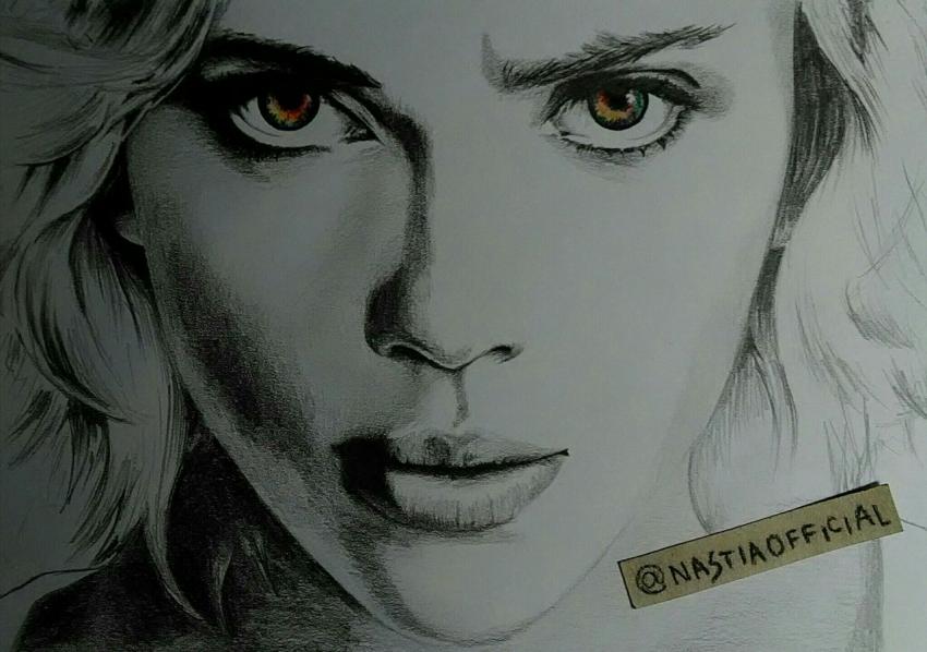 Scarlett Johansson par nastiaofficial